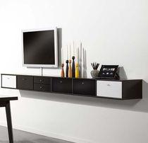 Mobile porta TV moderno / hi-fi / in legno laccato
