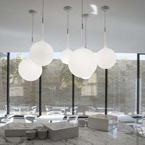Lampada a sospensione / moderna / in vetro soffiato / in resina