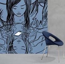 Sedia moderna / imbottita / in tessuto / in acciaio cromato