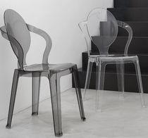 Sedia moderna / impilabile / riciclabile / in policarbonato