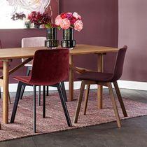 Sedia moderna / 100% riciclabile / in legno / in acciaio