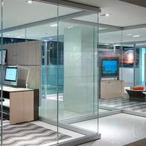 Parete fissa / vetrata / ad uso professionale / da ufficio