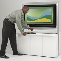 Mobile multimediale moderno / per sala conferenze / per sale riunione / in legno