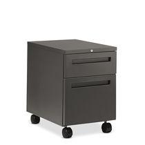 Cassettiera per ufficio in acciaio / 3 cassetti / 2 cassetti / con rotelle