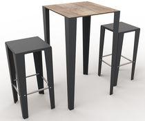 Tavolo per bistrot / moderno / in metallo / in laminato
