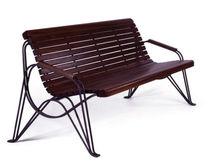 Panca pubblica / classica / in legno / in metallo