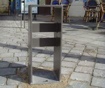 Colonna di protezione / in acciaio inossidabile / fissa