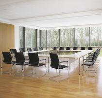 Tavolo da conferenza moderno / in laminato / in linoleum / rettangolare