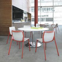 Tavolo da bistrot moderno / in HPL / rotondo / quadrato