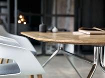 Tavolo da riunione moderno / in legno / in MDF stratificato / in HPL