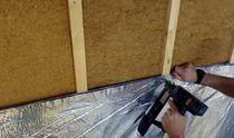 Isolante termico / sintetico / per soffitto / per muro