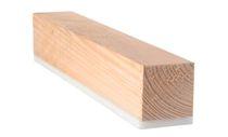 Isolante acustico / in lana di legno / per solaio / in pannelli