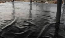 Membrana impermeabilizzante in polietilene ad alta densità HDPE / per tetto piano / liquida / di protezione