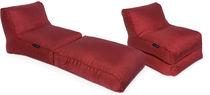 chauffeuse letto moderna CONVERSION LOUNGER - TORO RED Ambient Lounge Italia
