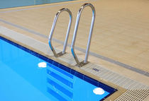 corrimano in acciaio inox per piscina  Myrtha Pools