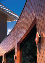 rivestimento di facciata in rame REYNOBOND COPPER ALCOA ARCHITECTURAL PRODUCTS