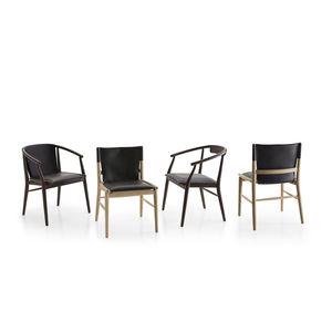 Sedia in pelle - Tutti i produttori del design e dell\'architettura ...