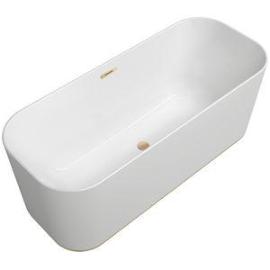 vasca da bagno ad isola in resina acrilica in quarzo