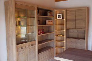 Libreria in legno massiccio - Tutti i produttori del design e dell ...