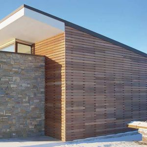 Rivestimento Esterno In Legno Per Case : Rivestimento di facciata in legno tutti i produttori del design