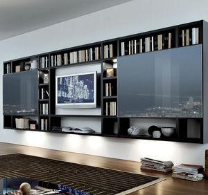 Pareti attrezzate TV MisuraEmme - Tutti i prodotti su ArchiExpo