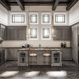 Cucina classica / in legno / laccata / opaca - ATHENA - BERLONI