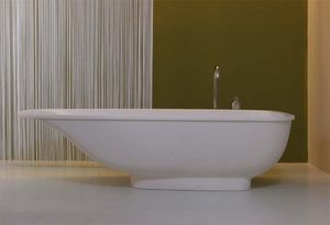 Vasca Da Bagno Freestanding By Rapsel Prezzo : Vasca da bagno da appoggio ovale in resina lavasca by matteo