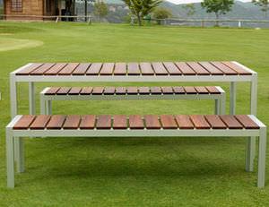 set tavoli e panche - tutti i produttori del design e dell ... - Tavolo Panca Da Giardino