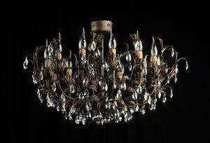Plafoniere Rettangolari Cristallo : Plafoniera in cristallo tutti i produttori del design e dell