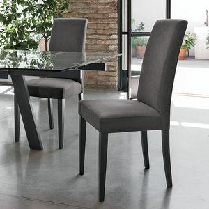 Sedia moderna / imbottita / in legno - SALISBURGO - Target Point New