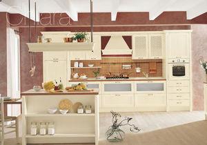 Cucina classica / in legno / con impugnature - CHIARA 03 - Gory Cucine
