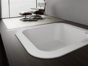 Vasca Da Bagno Quadrata 140x140 : Vasca quadrata perfect supra vasca angolare con seduta cm with