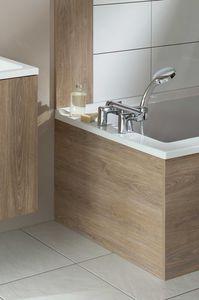 rivestimento vasca da bagno rettangolare in mdf laccato