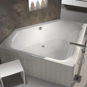 Vasca Da Bagno Incasso 150x70 : Vasca da bagno da appoggio dangolo in acrilico desire