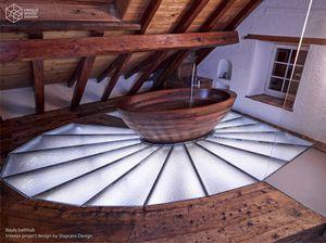 Traduzione In Francese Di Vasca Da Bagno : Doccia a filo pavimento originali esempi di design