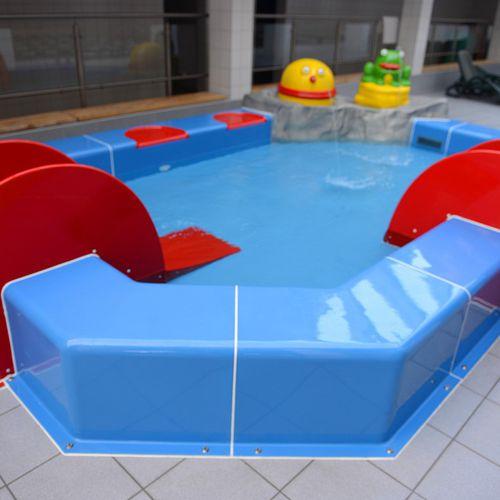 piscina fuoriterra / in plastica / per parco acquatico / per bambini