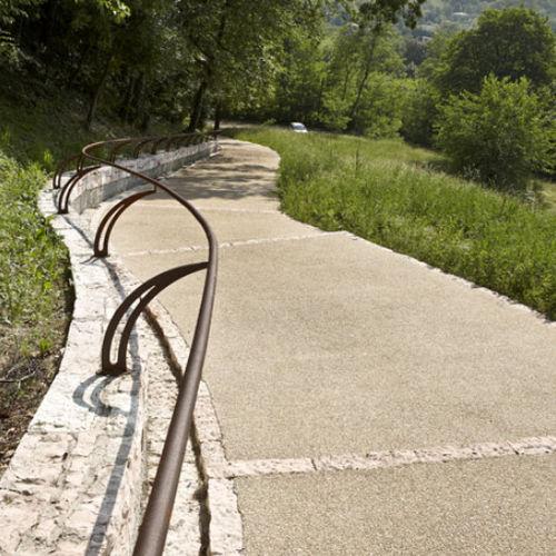 pavimento in calcestruzzo / per spazio pubblico / altri formati / testurizzato