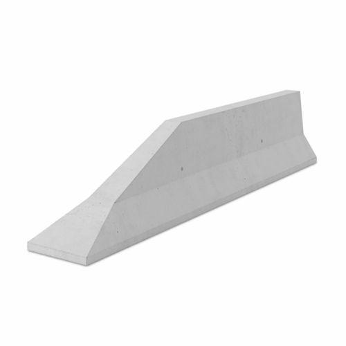 barriera di protezione / per strada / fissa / in calcestruzzo