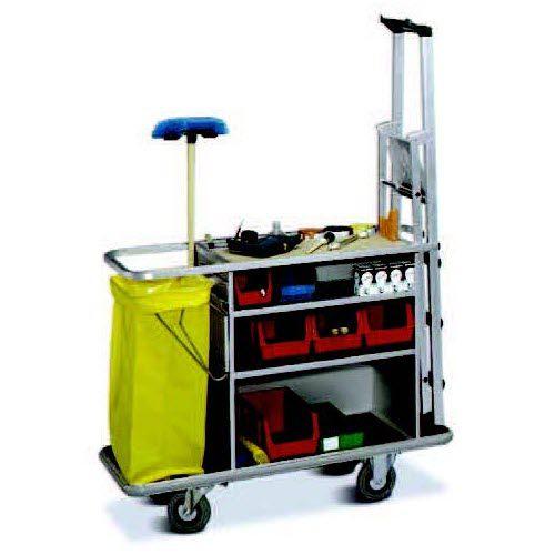 carrello di pulizia / contract / in alluminio