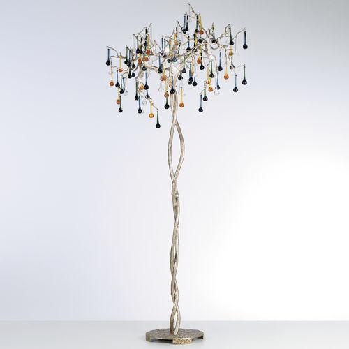 Lampada con piede / classica / in vetro / in bronzo BIJOUT PA629/4 Serip Organic Lighting