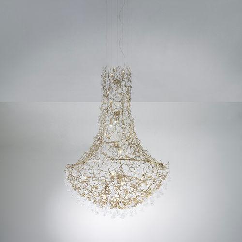 lampadario design originale / in vetro / in metallo / LED