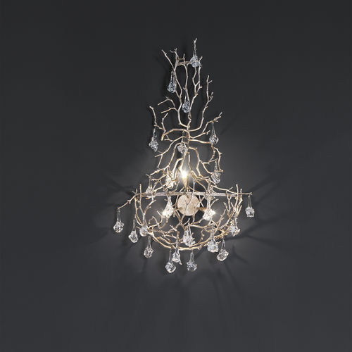 Applique design originale / in metallo / in vetro / LED CORAL : AP1442/3 Serip Organic Lighting
