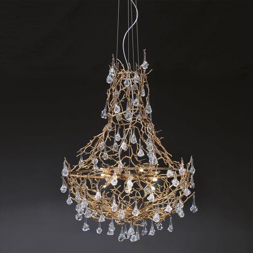 Lampadario design originale / in vetro / in metallo / LED CORAL :  CT3300/12 Serip Organic Lighting