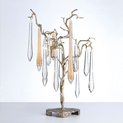 Lampada da tavolo / moderna / in metallo / in vetro AQUA 6026 Serip Organic Lighting