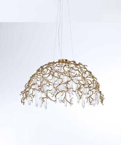 Lampada a sospensione / moderna / in metallo / in vetro AQUA CT3345/1 Serip Organic Lighting