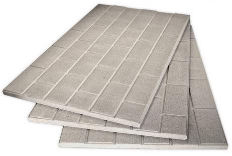 isolante termico / in vermiculite / per interni / in pannello rigido