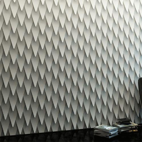 piastrella da interno / da parete / in plastica / motivo geometrico
