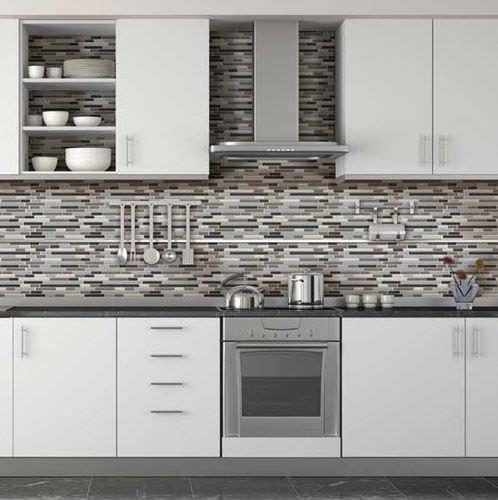 mosaico da interno / da cucina / da pavimento / in vetro