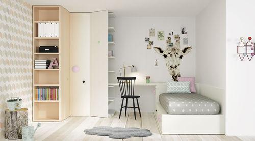 cameretta bianca / in legno / unisex