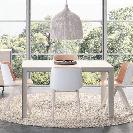 tavolo moderno / in legno / rettangolare